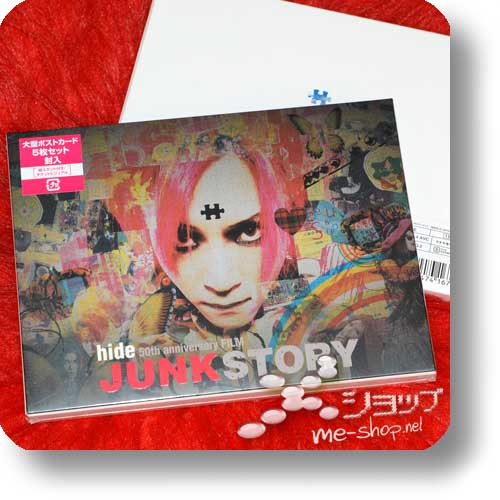 hide - 50th anniversary FILM JUNK STORY (lim.1.Press Blu-ray+DVD+Bonus)-0