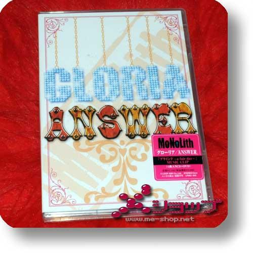MoNoLith - GLORIA / ANSWER lim.CD+DVD-0