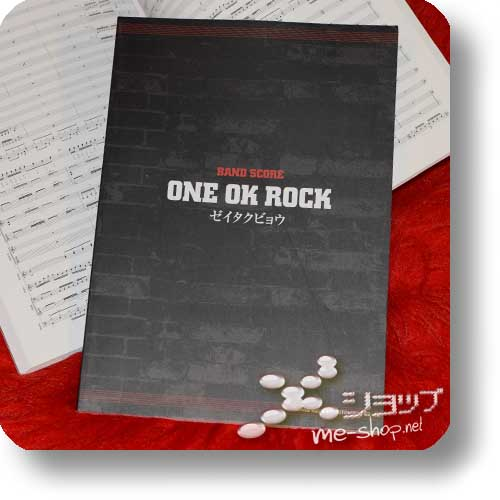 ONE OK ROCK - Zeitakubyo BAND SCORE (Notenbuch)-0