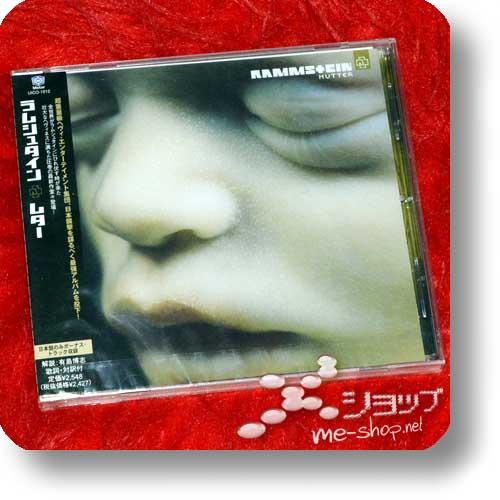 """RAMMSTEIN - Mutter (Japan-Pressung inkl. Bonustrack """"Hallelujah"""")-0"""
