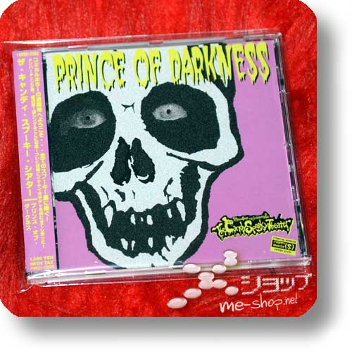 THE CANDY SPOOKY THEATER - PRINCE OF DARKNESS (lim.1000 / original handsigniert!) (Re!cycle)-0