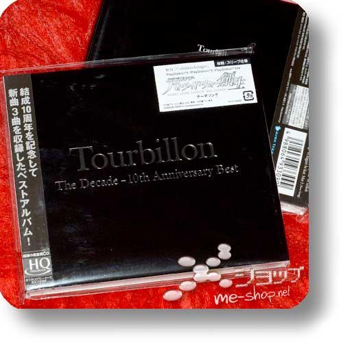 TOURBILLON - The Decade - 10th Anniversary Best LIM.1.PRESS HQCD (INORAN, Ryuichi Kawamura / LUNA SEA)-0