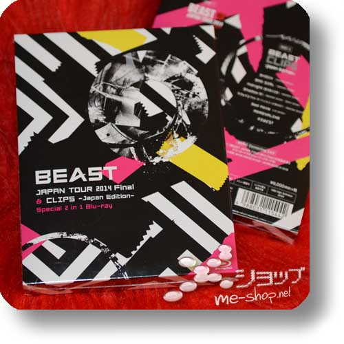 BEAST - JAPAN TOUR 2014 Final & CLIPS -Japan Edition- Special 2 in 1 Blu-ray (B2ST / HIGHLIGHT)-0