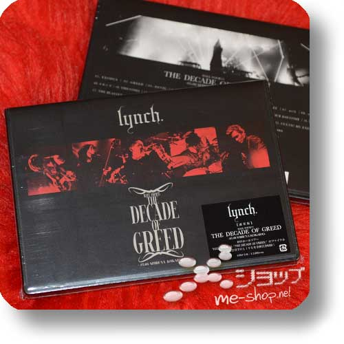 lynch. - HALL TOUR'15 THE DECADE OF GREED (DVD) -0