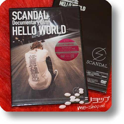 SCANDAL - Documentary film HELLO WORLD (DVD)-0