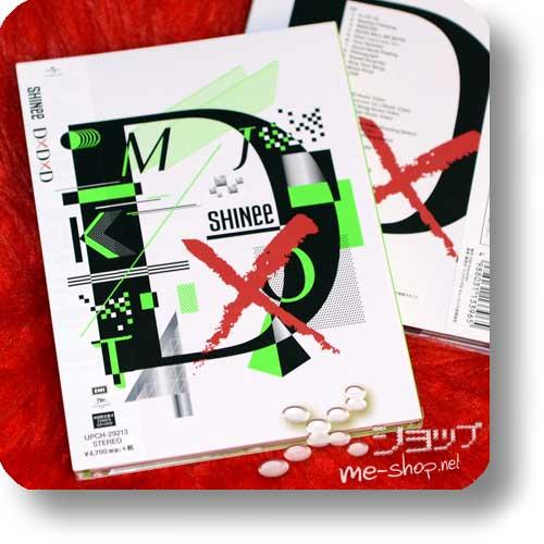 SHINee - D×D×D (DxDxD) (lim.1.Press CD+DVD+Photobook B-Type)-0