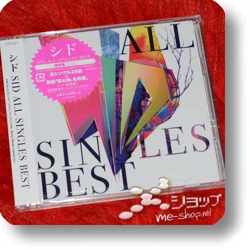 SID - ALL SINGLES BEST (2CD) +Bonus-Promoposter!-0