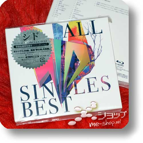 SID - ALL SINGLES BEST lim.2CD+Blu-ray B-Type+Bonus-Promoposter!-0