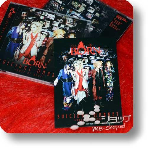 BORN - SUICIDAL MARKET -Doze of Hope- lim.CD+DVD B-Type +Bonus-Fotopostkarte!-0