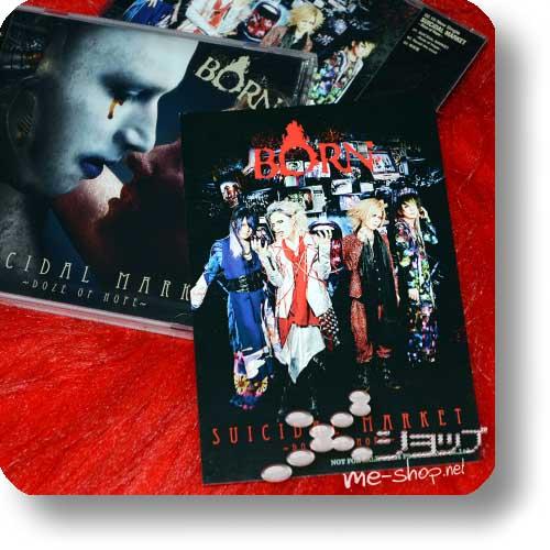 BORN - SUICIDAL MARKET -Doze of Hope- CD only B-Type +Bonus-Fotopostkarte!-0