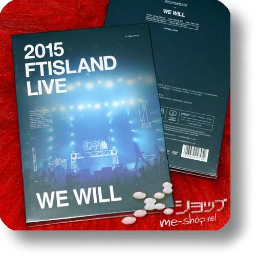 FTISLAND - 2015 FTISLAND LIVE WE WILL (lim.2DVD+Photobook / F.T.Island)-0