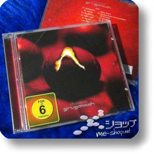 GIRUGAMESH (girugämesh) - chimera CD+DVD (Deutsche Pressung)-0