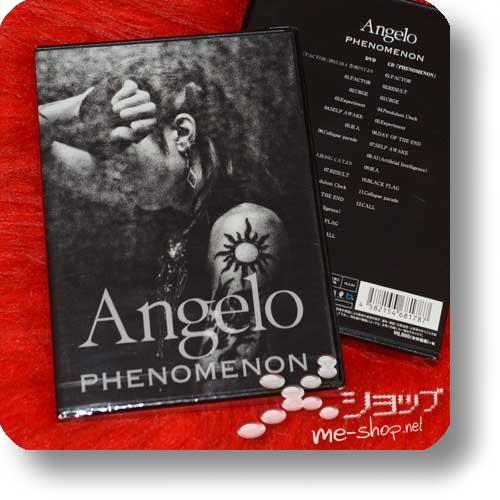 ANGELO - PHENOMENON (Live-DVD+Album-CD)-0