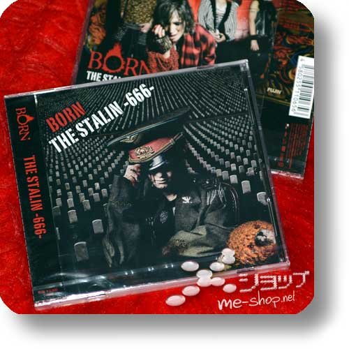 BORN - THE STALIN -666- lim.CD+DVD A-Type (Re!cycle)-0