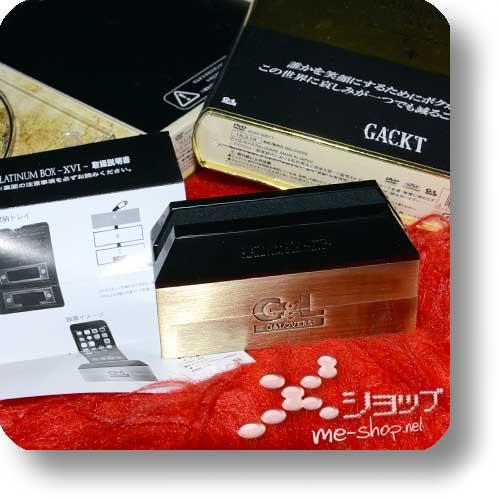 GACKT - Platinum Box XVI (LIM.BOX DVD + Metall-Smartphoneständer!)-15088