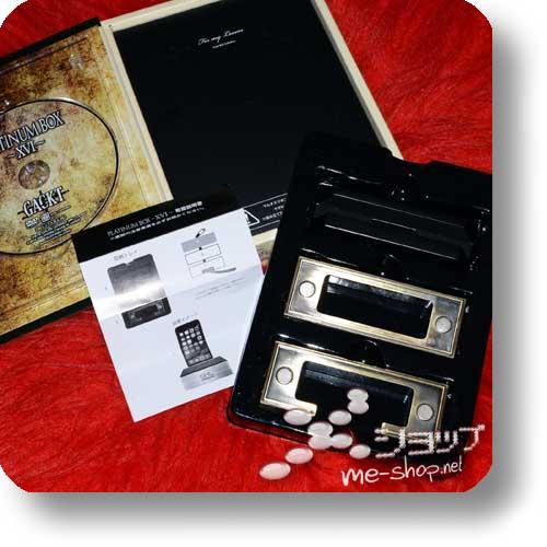 GACKT - Platinum Box XVI (LIM.BOX DVD + Metall-Smartphoneständer!)-15092