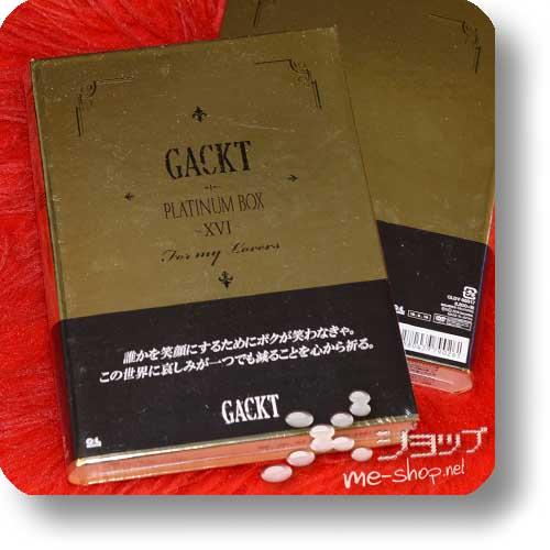 GACKT - Platinum Box XVI (LIM.BOX DVD + Metall-Smartphoneständer!)-0