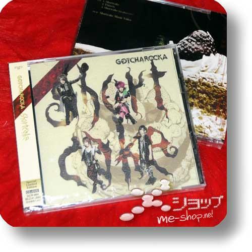GOTCHAROCKA - Shortcake LIM.CD+DVD (Re!cycle)-0