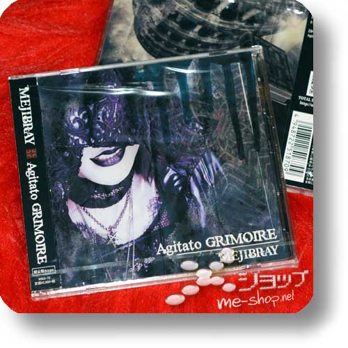 MEJIBRAY - Agitato GRIMOIRE LIM.CD+DVD A-Type-0
