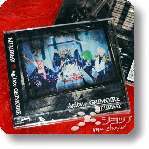 MEJIBRAY - Agitato GRIMOIRE LIM.CD+DVD B-Type-0