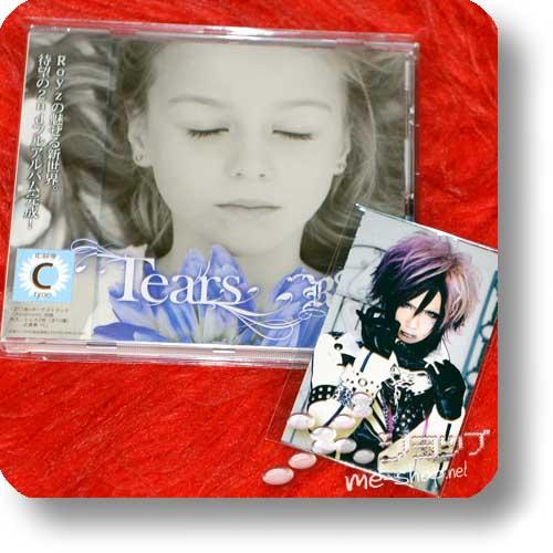 ROYZ - Tears (C-Type inkl. Bonustrack +Tradingcards!) (Re!cycle)-0