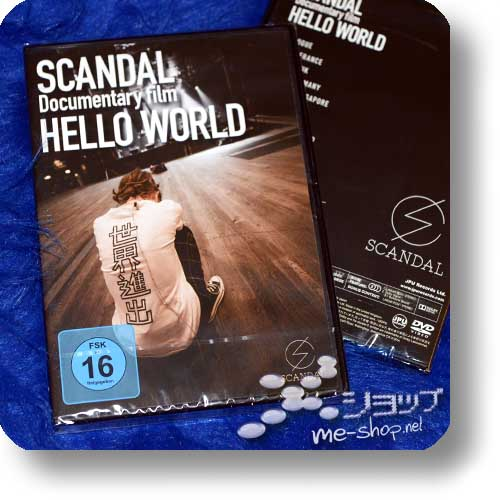 SCANDAL - Documentary film HELLO WORLD (DVD / EU-PRESSUNG)-0