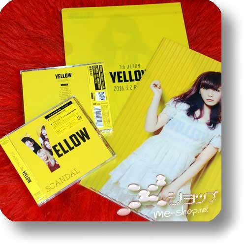 SCANDAL - YELLOW (lim.CD+DVD) +Bonus-Clearfile!-0