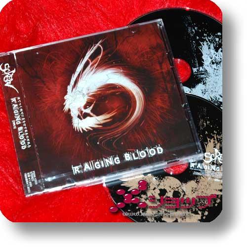 SCREW - Raging Blood [Type S] LIM.CD+DVD (Re!cycle)-0