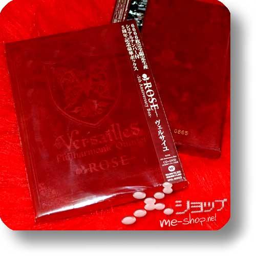 VERSAILLES - Rose (Samtbox CD+DVD+Photobook / lim./num.6666!) (Re!cycle)-0
