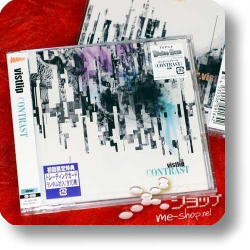 "vistlip - CONTRAST CD+DVD ""vister"" +Bonus-Promoposter! (Divine Gate)-0"