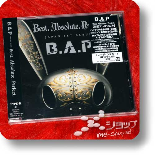 B.A.P - Best Absolute Perfect (JAPAN 1ST ALBUM) TYPE B lim.1.Press-0