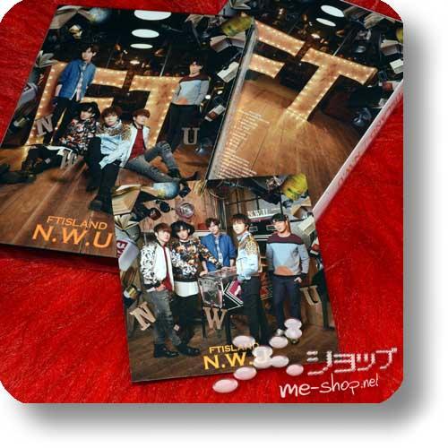 FTISLAND - N.W.U (lim.CD+DVD+Photobook A-Type +Bonus-Fotokarte / F.T.Island)-0