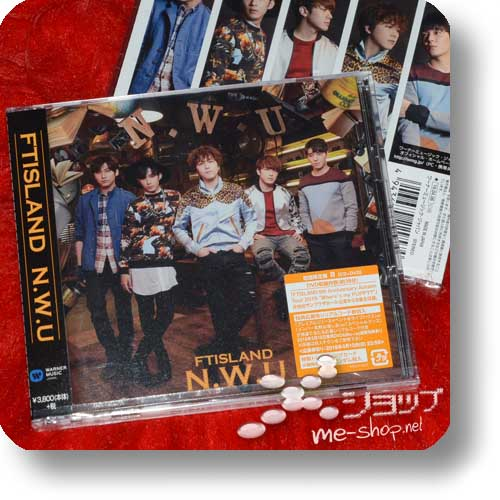 FTISLAND - N.W.U (lim.CD+Live-DVD B-Type / F.T.Island)-0