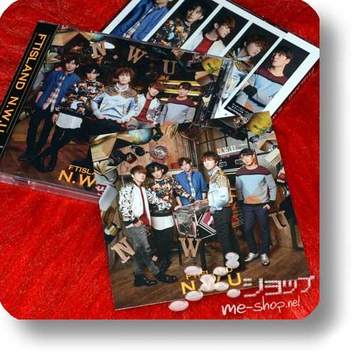 FTISLAND - N.W.U (lim.CD+Live-DVD B-Type +Bonus-Fotokarte / F.T.Island)-0