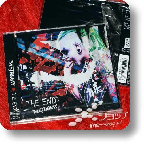 MEJIBRAY - THE END LIM.CD+DVD B-Type-0