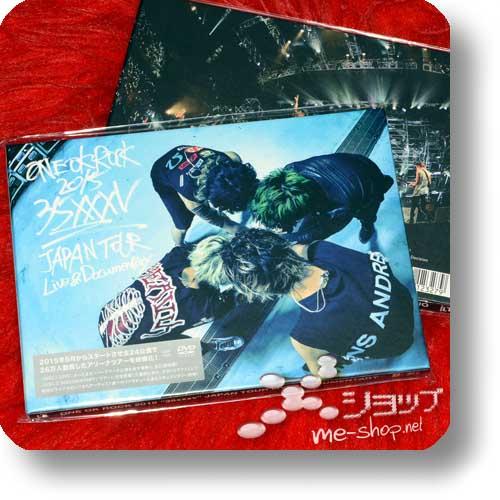 """ONE OK ROCK - 2015 """"35xxxv"""" JAPAN TOUR LIVE&DOCUMENTARY (2DVD / lim.Digibook)-0"""