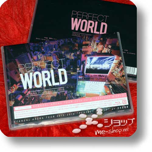 SCANDAL - ARENA TOUR 2015-2016 PERFECT WORLD (Blu-ray)-0