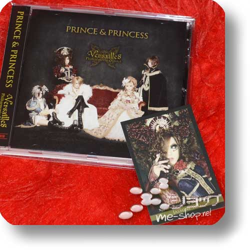 "VERSAILLES - Prince & Princess +Tradingcard ""JASMINE YOU"" (Re!cycle)-0"