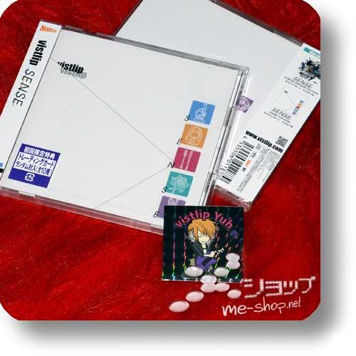 "vistlip - SENSE CD+DVD ""vister"" +Promo-Hologrammsticker!-0"