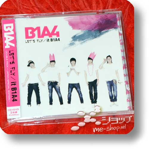 B1A4 - LET'S FLY / it -JAPAN SPECIAL EDITION- CD+DVD (Re!cycle)-0