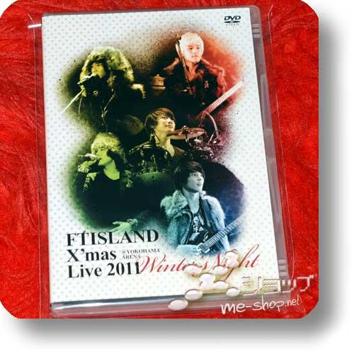 "FTISLAND - X'mas Live 2011 ""Winter's Night"" @ YOKOHAMA ARENA (Live-DVD / F.T.Island) (Re!cycle)-0"