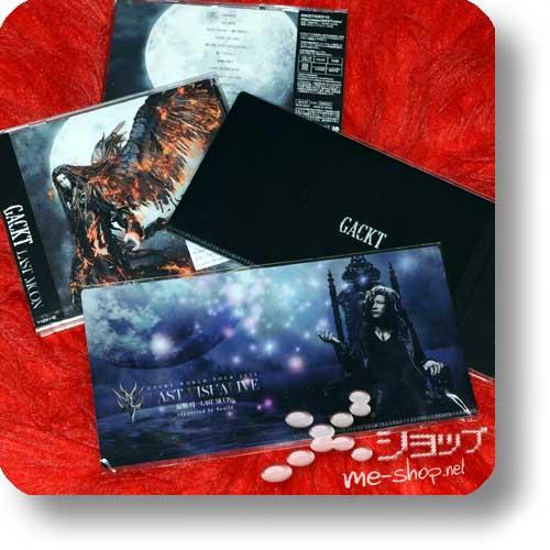 GACKT - LAST MOON (lim.CD+DVD) +Bonus-Ticketfolder!-0