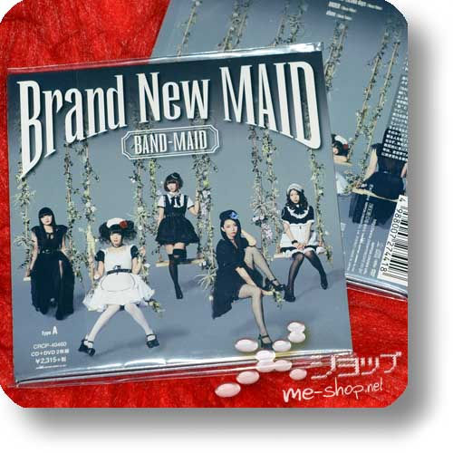 BAND-MAID - Brand New Maid (lim.CD+DVD A-Type)-0