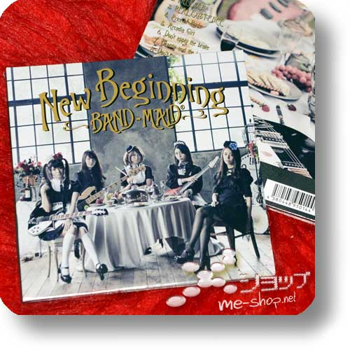 BAND-MAID - New Beginning (lim.CD+DVD A-Type)-0