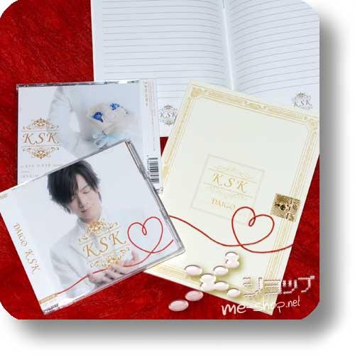 DAIGO - KSK (lim.CD+DVD) +Bonus-Notebook! (BREAKERZ)-0