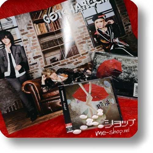 GOTCHAROCKA - Rainfall (lim.CD+DVD) +Bonus-Poster!-0