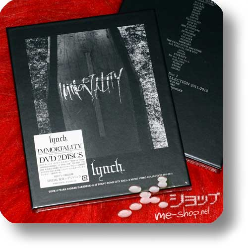 lynch. - IMMORTALITY (Tour'15+Music Video Collection / lim.1.Press 2DVD Special Box)-0