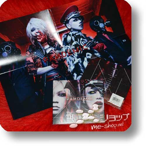 THE THIRTEEN - PANDEMIC (LIM.CD+DVD)+Bonus-Poster! (TH13TEEN / Sadie)-0