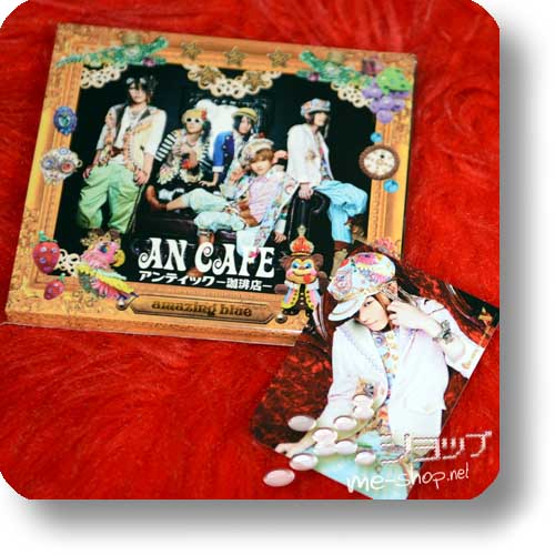 AN CAFE - amazing blue LIM.CD+DVD 1.Press+Bonus (Re!cyle)-0