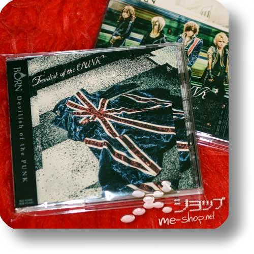 BORN - Devilish of the PUNK (im.CD+DVD)-0